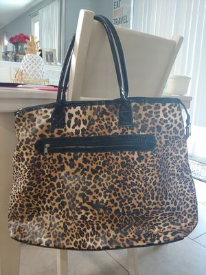 Large Clean Leopard Tote Bag for Sale in Las Vegas, NV