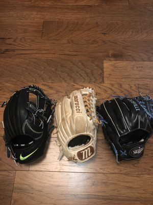 Baseball gloves for Sale in Austin, TX