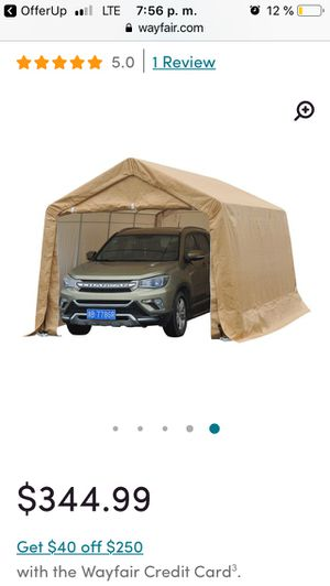 Portable garage for Sale in West Palm Beach, FL