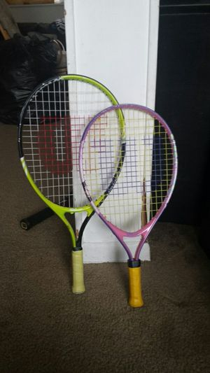 Wilson Tennis Rackets for Kids for Sale in Fairfax, VA