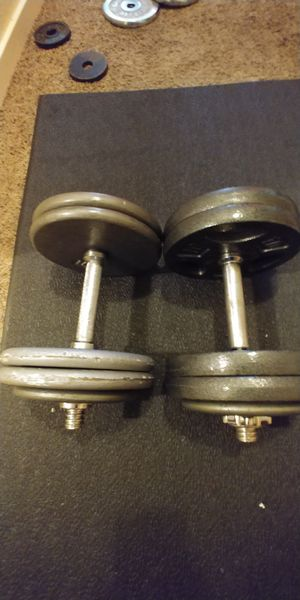 Adjustable dumbbells 105lbs total $160 for Sale in Seattle, WA