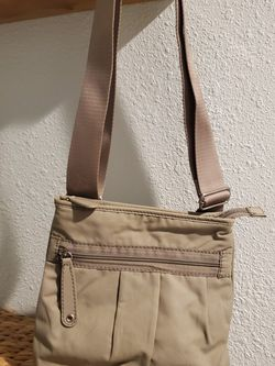 Lacoste Cross Body Canvas Bag for Sale in Aurora,  OR