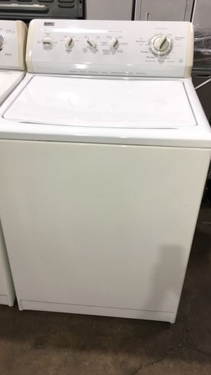 KENMORE ELITE WASHER ENERGY SAVING HEAVY DUTY KING SIZE CAPACITY for Sale in Costa Mesa, CA