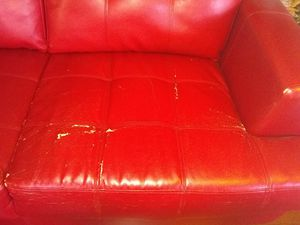 Red couch set for Sale in Oakland, CA