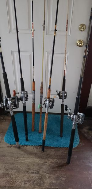 FISHING RODS AND REELS for Sale in BAITING HOLLO, NY