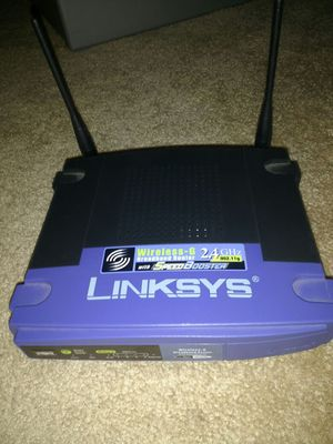 Linksys wireless broadband router for Sale in San Diego, CA