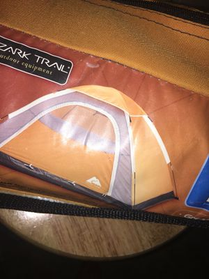 Orange camping tent for Sale in Midlothian, VA