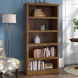 Brand new already assembled standard wooden Bookcase bookshelf for Sale in Los Angeles, CA