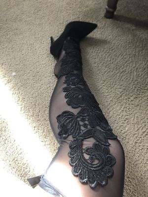 thigh high boots lace for Sale in Orlando, FL