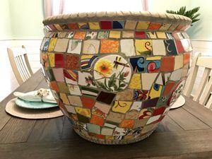 Ceramic flower pot for Sale in Norfolk, VA
