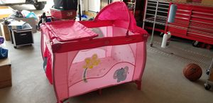 Portable Baby Play Yard, Removable bassinet, Changing Table for Sale in Elon, NC