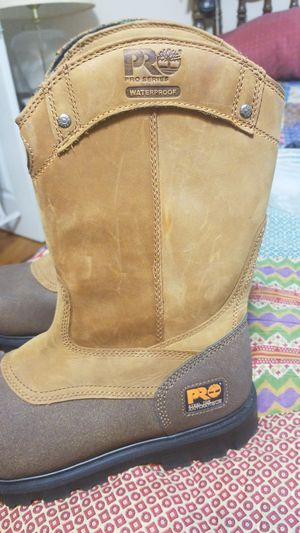 TIMBERLAND PRO STEEL TOE WORK BOOTS for Sale in Decatur, GA