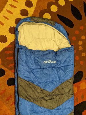 Abcosport Single Sleeping Bag Lightweight Portable, Waterproof - Narrow for Kids for Sale in Mercer Island, WA