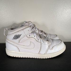 Nike Air Jordan 1 Mid Triple White 1Y for Sale in Philadelphia, PA