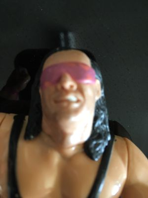 Vintage WWF Hasbro Bret The Hitman Hart Action Figure Toy Collection for Sale in El Paso, TX