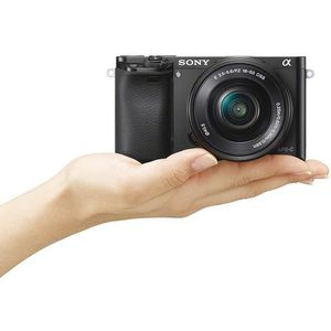 Sony Alpha a6000 Mirrorless Digital Camera with 16-50mm Lens (Black) for Sale in San Jose, CA