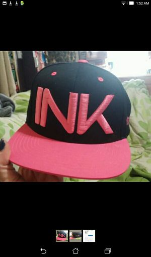 Ink Addict tattoo gear hat pink snapback for Sale in North Smithfield, RI