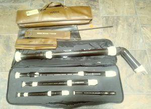Yamaha Recorder Set with Cases for Sale in Union, CT