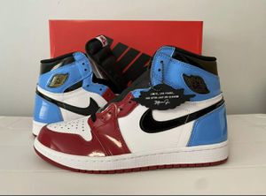 """Nike Air Jordan 1 Retro High OG """"Fearless"""" UNC Chicago CK5666-100 Men Size 10 for Sale in Oxon Hill, MD"""