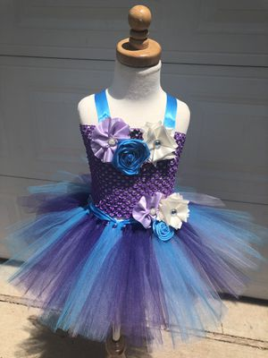 Beautiful flower girl dress birthday dress photography dress for Sale in Manassas, VA