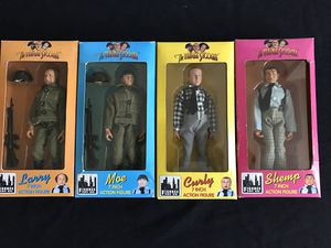 """The Three Stooges 7"""" Action Figures for Sale in Warwick, RI"""