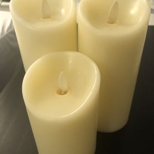 LED Candles - Set Of 3 for Sale in New York, NY
