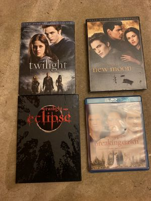 Twilight (4 movies) collection for Sale in Waltham, MA