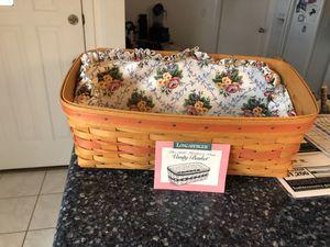 Longaberger 1996 vanity basket for Sale in Venice, FL
