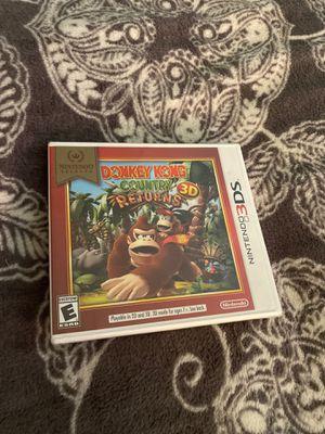 Nintendo 3DS Donkey Kong Game for Sale in San Bernardino, CA