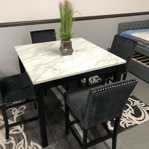 5PC Gray Dining Table Set On Sale 🔥 for Sale in Fresno, CA