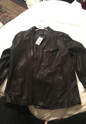 John Varvatos men's leather jacket size50 for Sale in Los Angeles, CA
