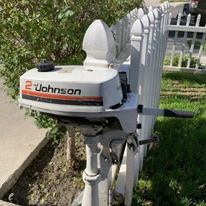 Johnson2hp Seahorse Outboard Boat Motor for Sale in Cypress, CA