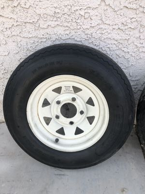 12 inch trailer wheels / tires for Sale in Henderson, NV