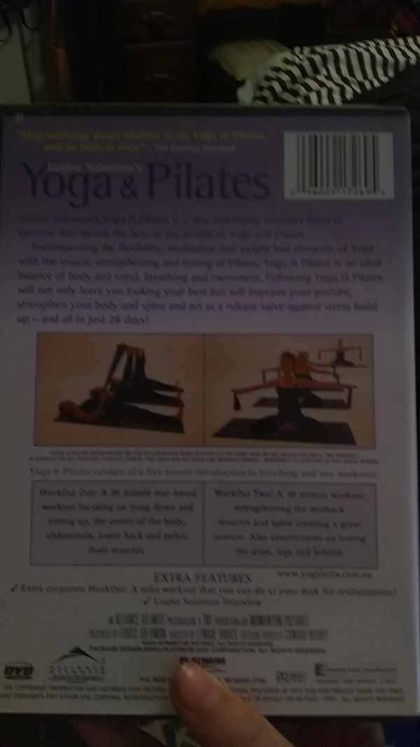 Yoga Cd you can put it in your DVD player and it will play it's in perfect condition no scratches promised this would be