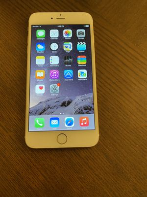 iPhone 6 Plus gold 64gb blacklisted for Sale in Fairfax, VA