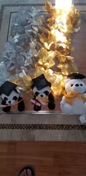 Graduation Stuffed Animal Necklaces for Sale in San Diego, CA