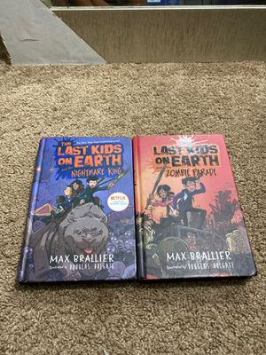 The last kids on earth 2 and 3rd book for Sale in Harrisburg, PA