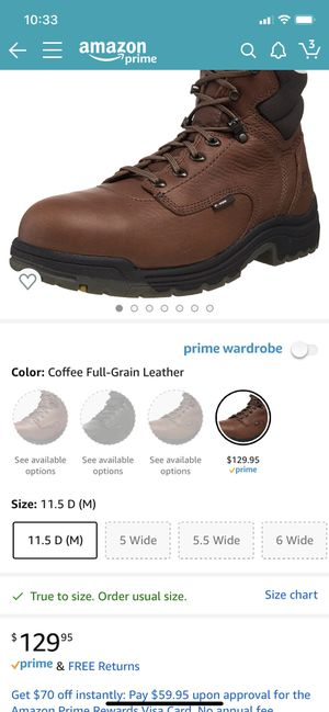 Timberland work boots for Sale in Chardon, OH