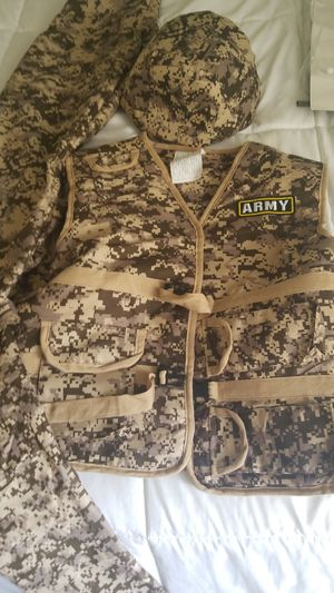 Army Halloween costume large youth for Sale in Lake Mary, FL
