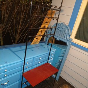 Cute Little Entry Coat Rack And Bench With Shoe Shelves for Sale in Portland, OR