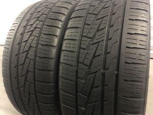 255 35 19 Sumitomo tires set of 2 for Sale in Manassas, VA