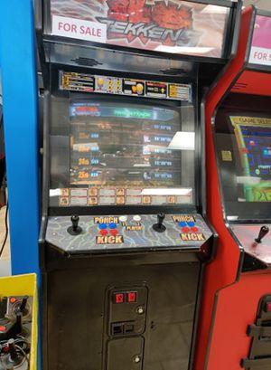 Tekken 5 Full Sized Arcade - 𝐈𝐅 𝐘𝐎𝐔 𝐒𝐄𝐄 𝐌𝐘 𝐀𝐃, 𝐈𝐓𝐒 𝐒𝐓𝐈𝐋𝐋 𝐀𝐕𝐀𝐈𝐋𝐀𝐁𝐋𝐄 for Sale in Goodyear, AZ