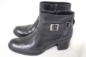 HARLEY DAVIDSON BLACK ANKLE LEATHER BOOTS for Sale in Orlando, FL
