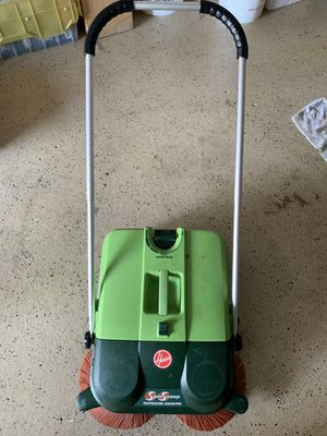 Hoover outdoor sweeper for Sale in West Mifflin, PA