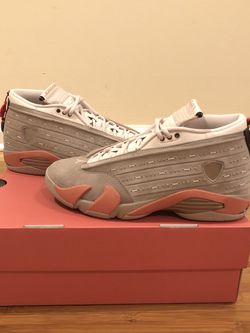 Brand New Air Jordan 14 Retro Low Clot Terra Blush! Ready to meet up for Sale in Lawrenceville,  GA