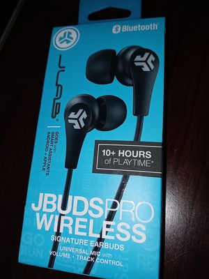 JBUDS PRO BT- BLK- Box for Sale in NEW PRT RCHY, FL