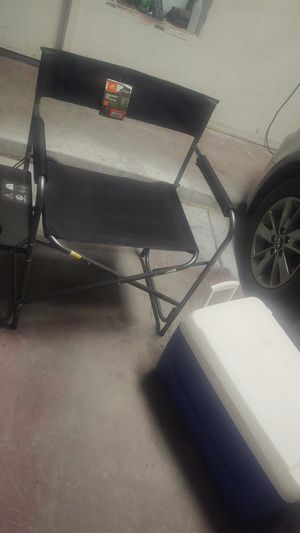 camping chair and cooler for Sale in Phoenix, AZ