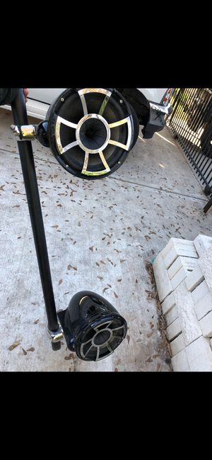 """""""Wet Sounds"""" 10'Inch Tower Speaker's for Sale in Houston, TX"""