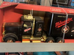 Milwaukee toy truck collectible for Sale in Crosby, TX