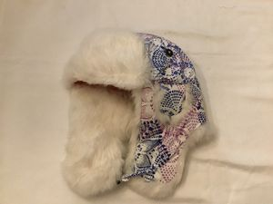 Mad bomber girls hat with 100% natural rabbit fur… Size Youth large for Sale for sale  Manasquan, NJ